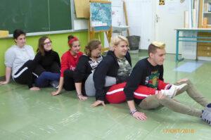 2 Teambuilding igre, turisti, Narobe dan.Jeznik