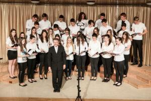 2014 mešani pevski zbor, revija