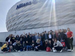 Allianz Arena v Münchnu