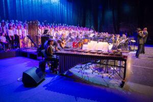 FOTO 11 - pevke na koncertu na Kongresnem trgu