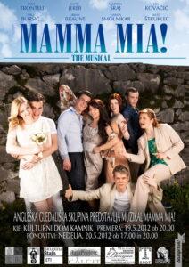 Kopija dokumenta Mamma Mia! The Musical - Promotional Poster_No.1