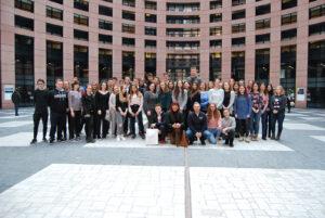 Obisk evropskega parlamenta