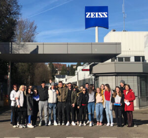 Ogled optične industrije Carl Zeiss v Aalenu