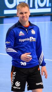 Staš Skube, rokometni reprezentant, naš maturant