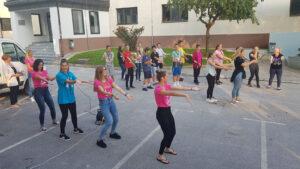 skupinski ples